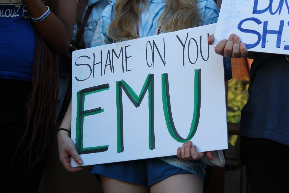 Students call on Eastern Michigan University to remove fraternities as they demand a safe campus