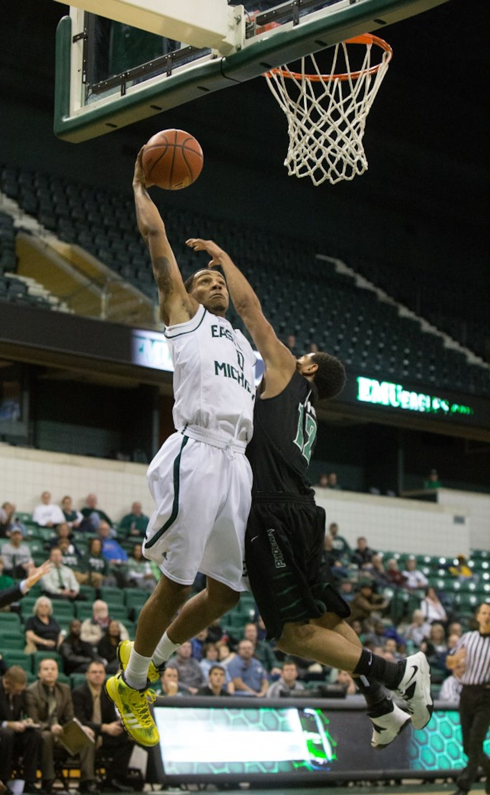 EMU knocks off Wisconsin-Green Bay, 67-58