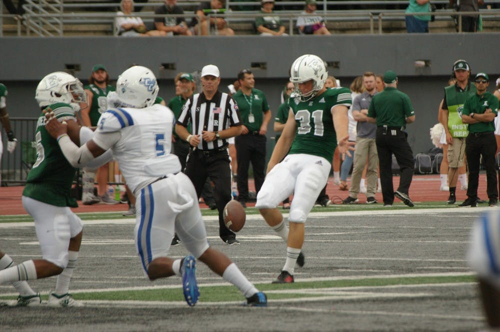EMU football players have a chance to win prestigious awards