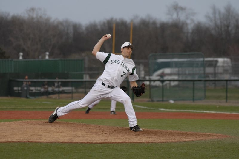 Corey Chaffins, a junior right-hand pitcher, underwent elbow surgery in 2008 and has a 3-4 record in 2010.