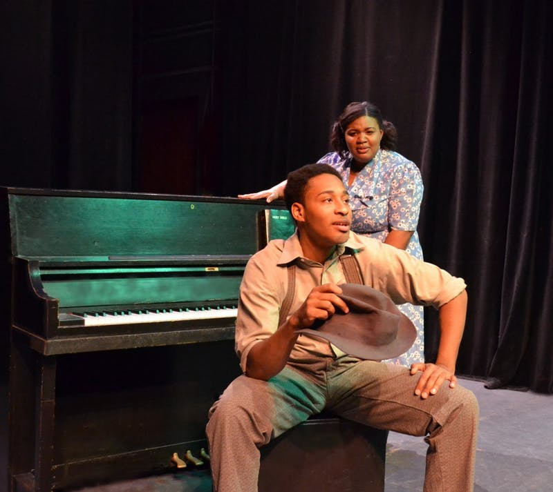 'The Piano Lesson' will be featuring EMU students Mishana Green as Berniece and Jeffrey DeVault as Boy Willie.