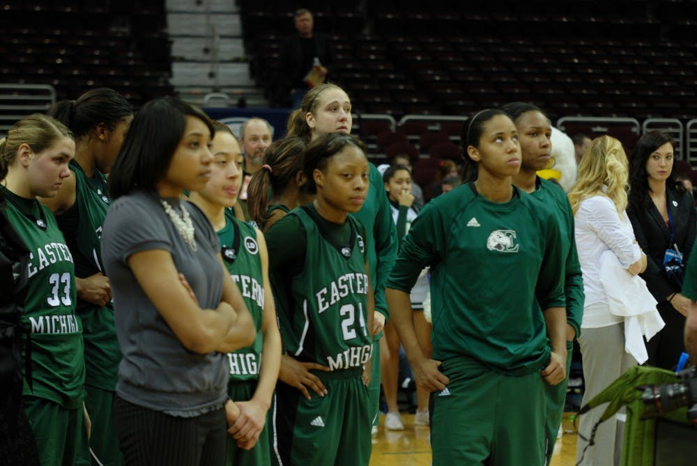 Eastern Michigan women's basketball team loses 51-46 in MAC championship game