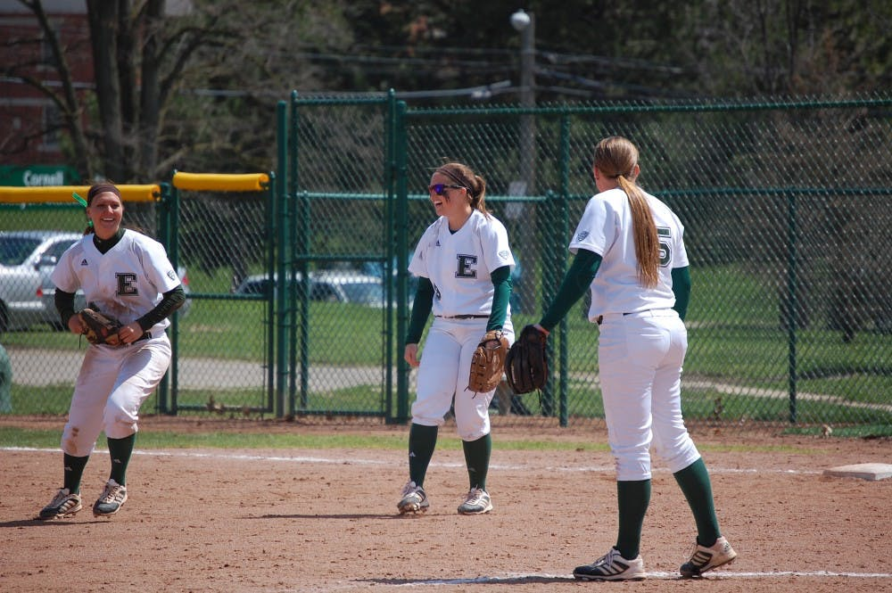 Softball player is named MAC West Player of Week