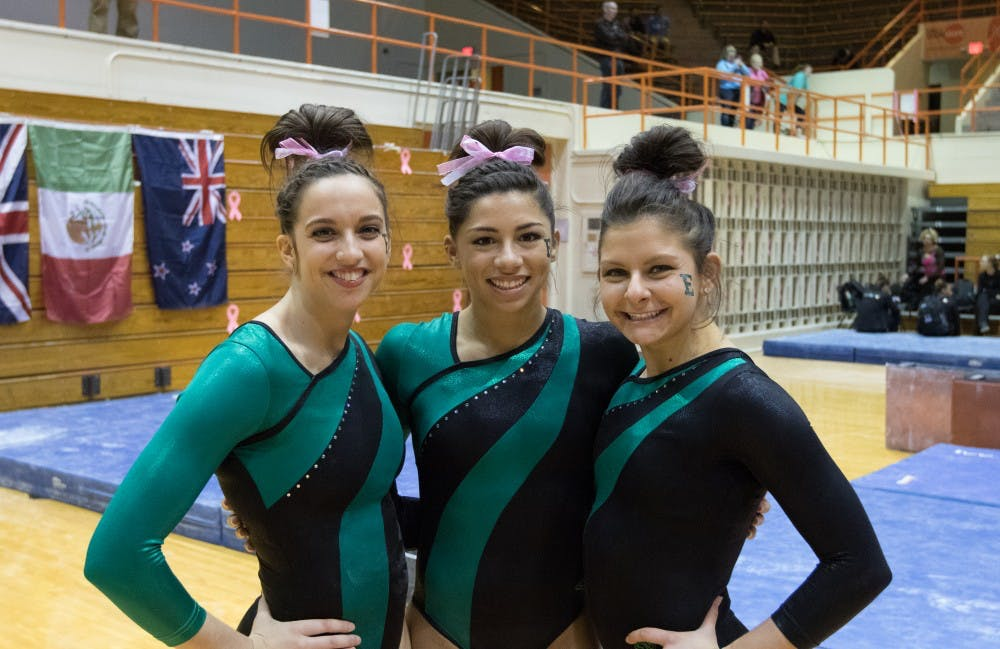 EMU gymnasts named to All-MAC teams