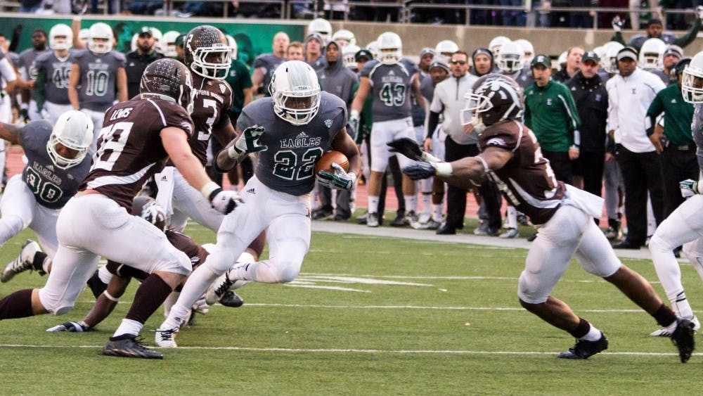 Trick play to tie the game in the last minute leads to OT win for EMU