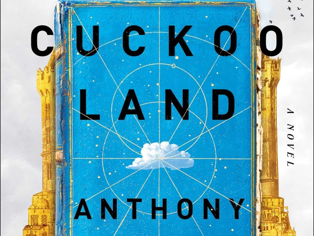 Cloud Cuckoo Land was written by Anthony Doerr. Book art credit: Jonathan Bush.