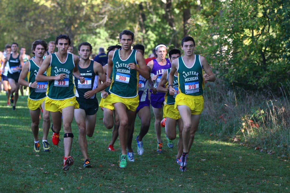 Men's cross country takes three top-10 spots at Spartan Invitational