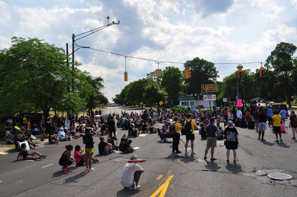 Ypsilanti community members hold a Black Lives Matter protest Saturday, June 20; city council members in attendance ask mayor to resign
