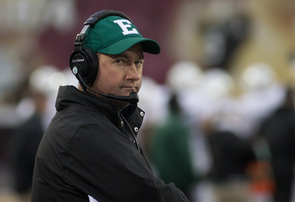 McCaslin relieved of duties for EMU football