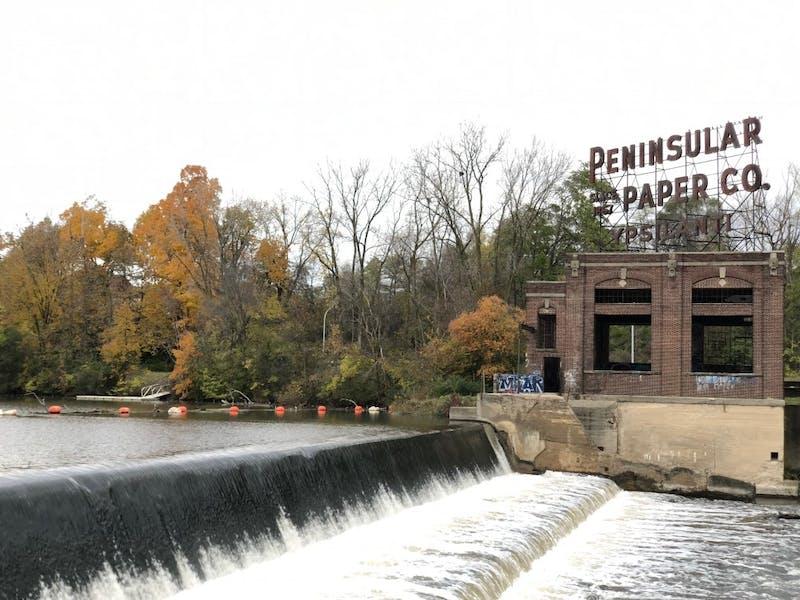 Peninsular Park Dam