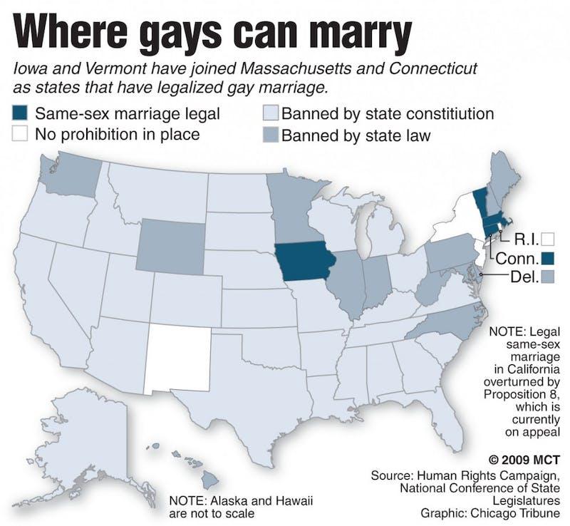 20090407 Same sex marriage