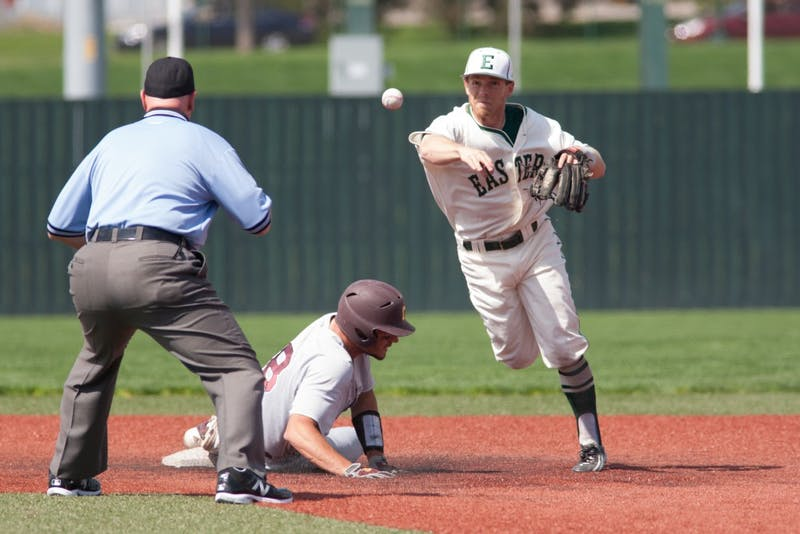 Sunday's 15-1 loss dropped the Eagles to 17-33 overall and 4-20 in conference play.