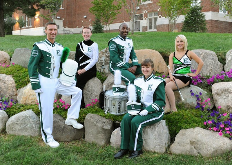 EMU Marching Band gets new look, by replacing 16-year-old uniform design.