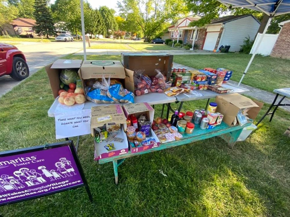 Ypsilanti woman running 'no questions asked' community pantry to help local families