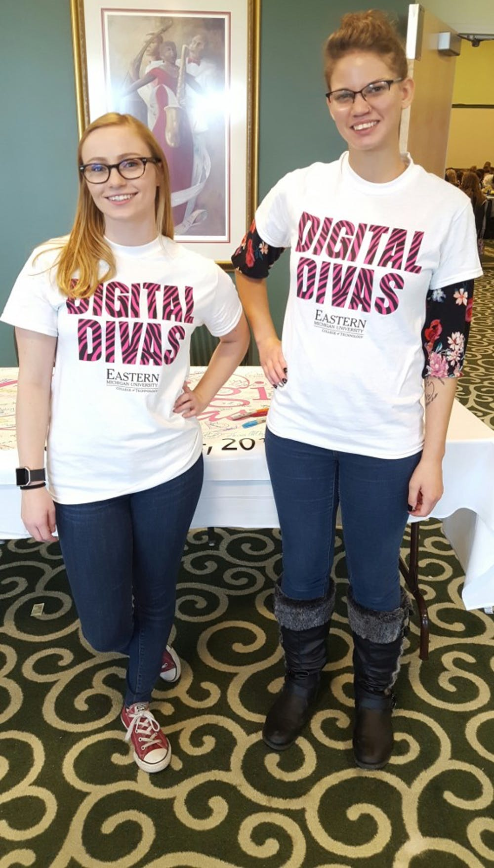 Digital Divas at EMU