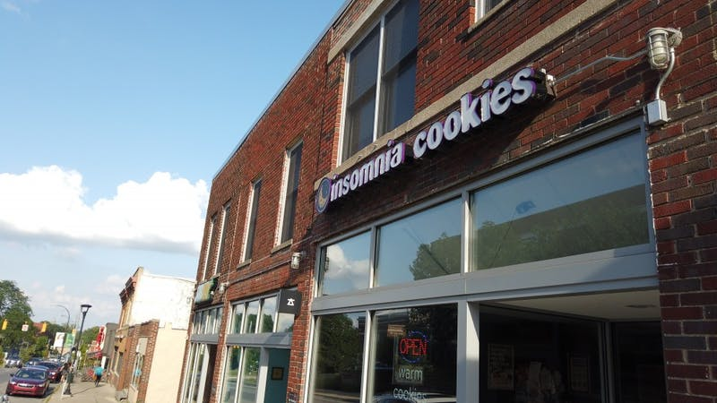 Insomnia Cookies, located at 733 W Cross St in Ypsilanti, announced they would be giving out free ice cream on National Ice Cream Day this Sunday, July 21.