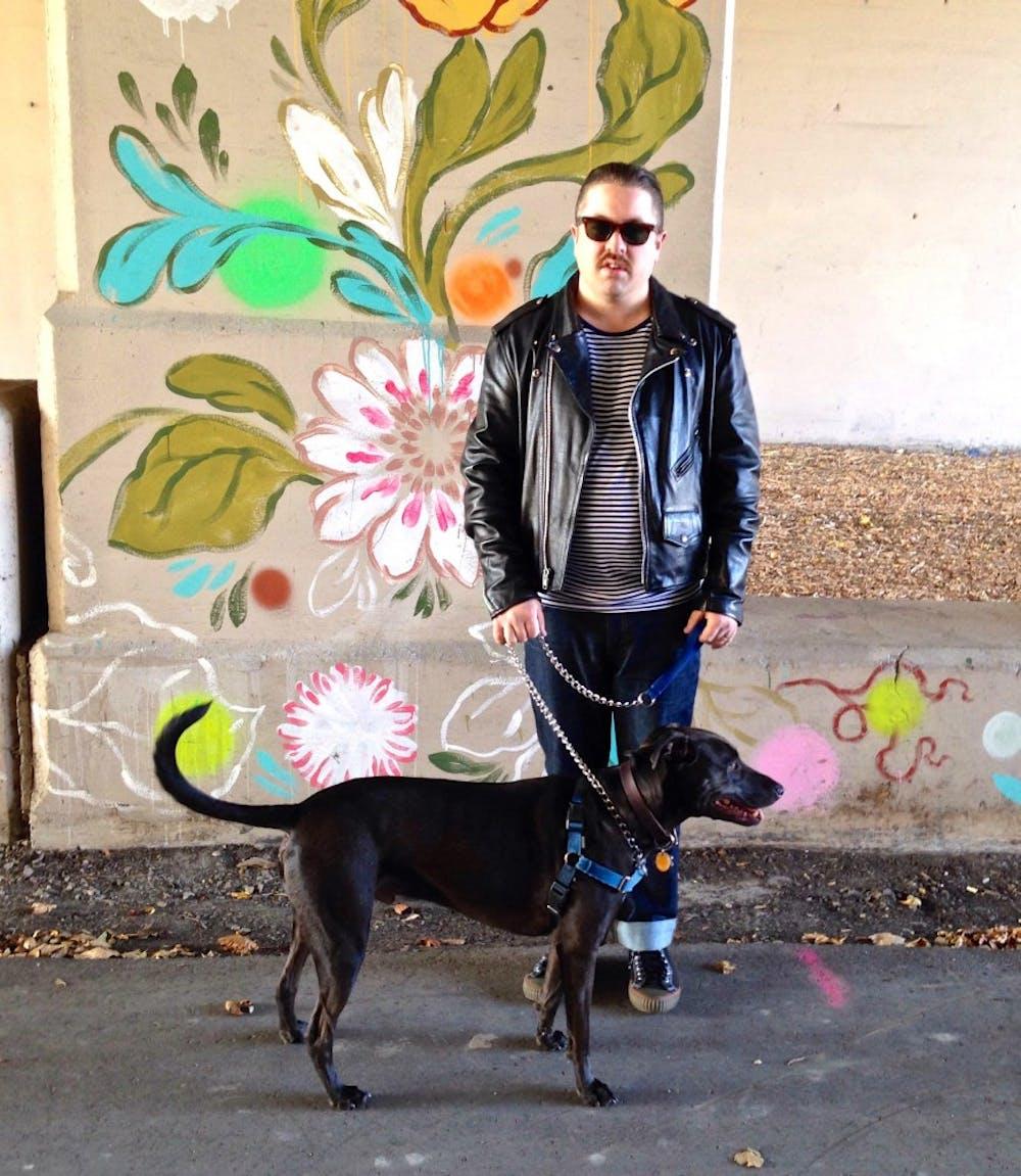 Graduate student uses friends, pets in art exhibit