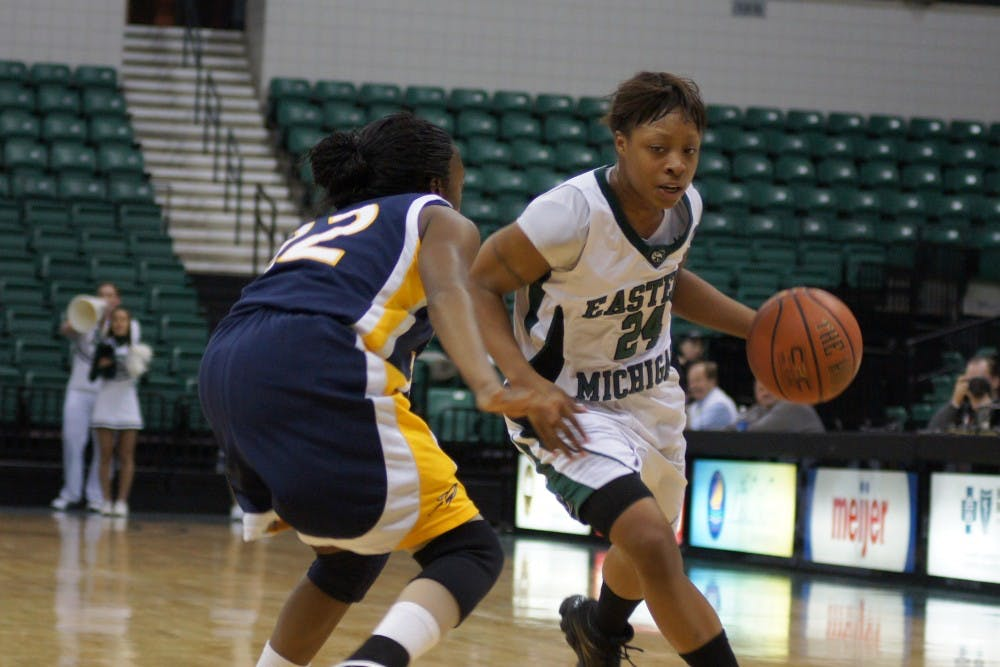 Toledo hands Eastern Michigan women's basketball team second MAC loss