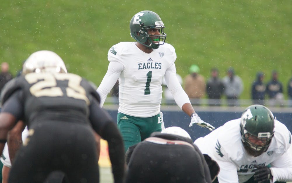Eagles drop MAC opener to Akron, 31-6.