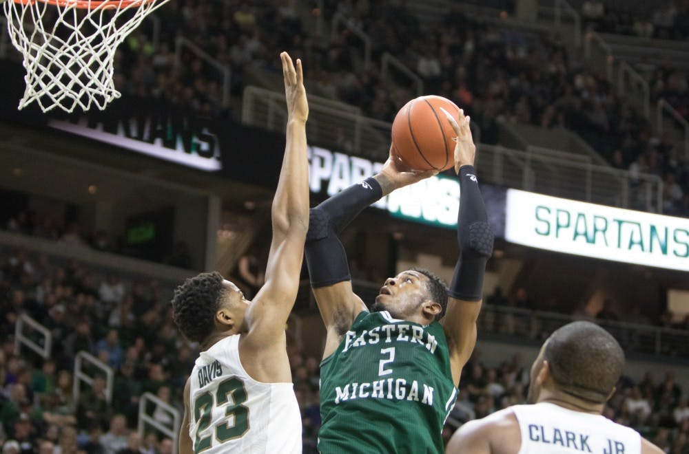 Eagles fall to Spartans 89-65