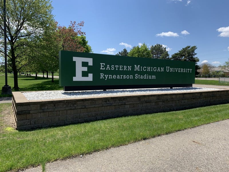 Rynearson Stadium on May 14 in Ypsilanti, Michigan.