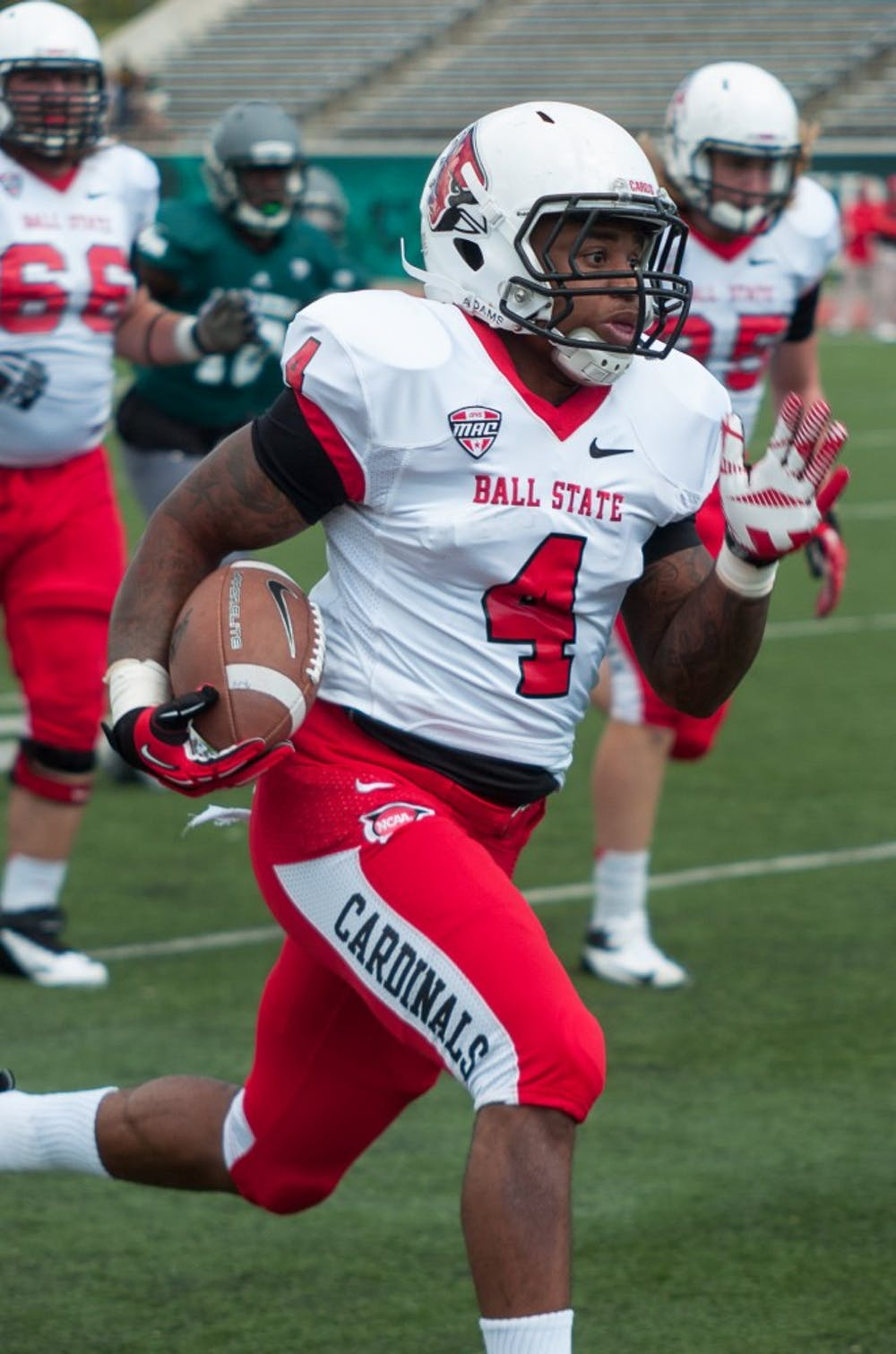 Ball State spoils EMU homecoming, 51-20
