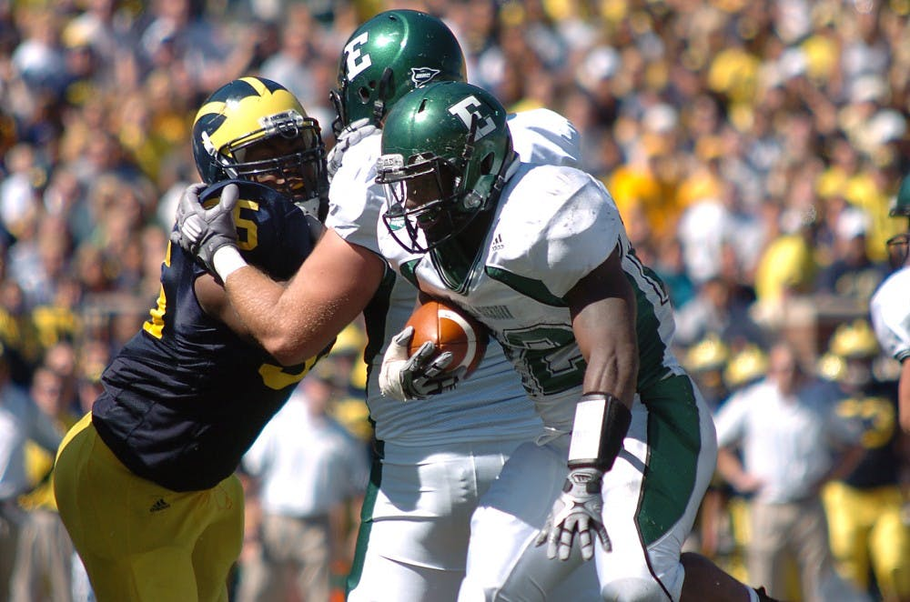 Eastern Michigan overpowered by Michigan ground game