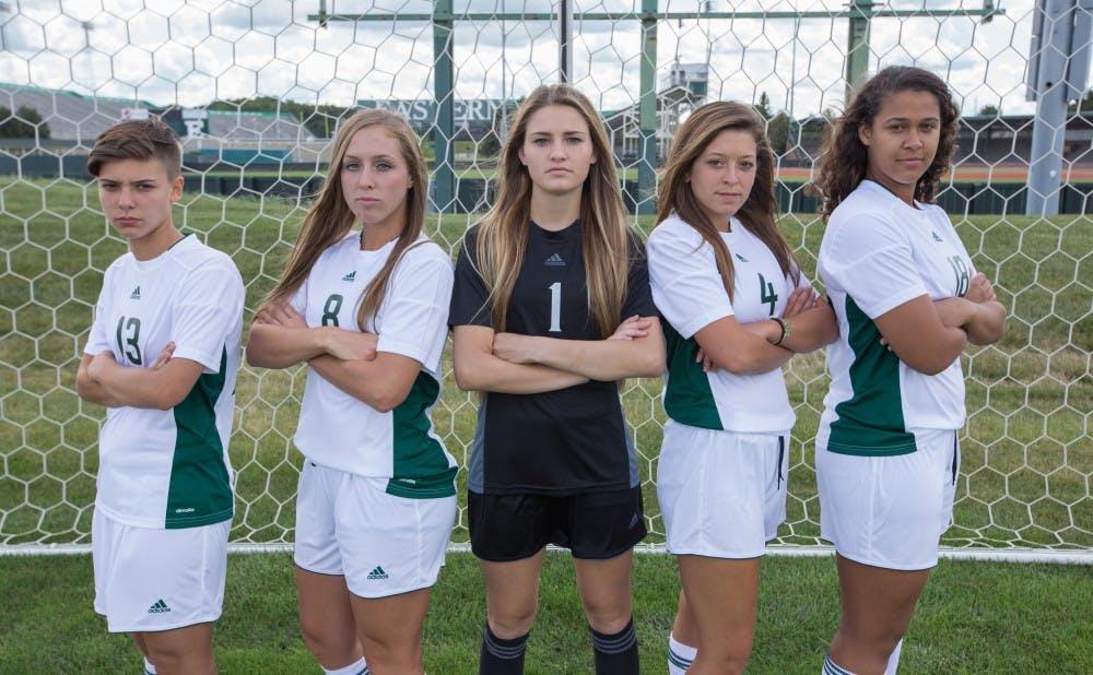 Five freshmen start preseason with EMU Soccer