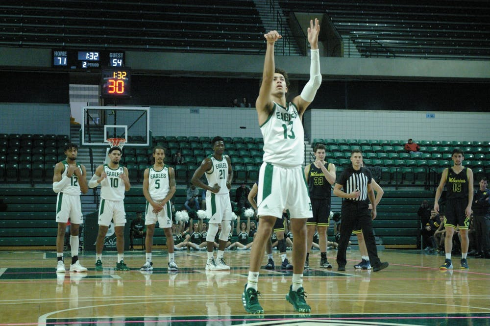 EMU men's basketball upsets Central Michigan on the road