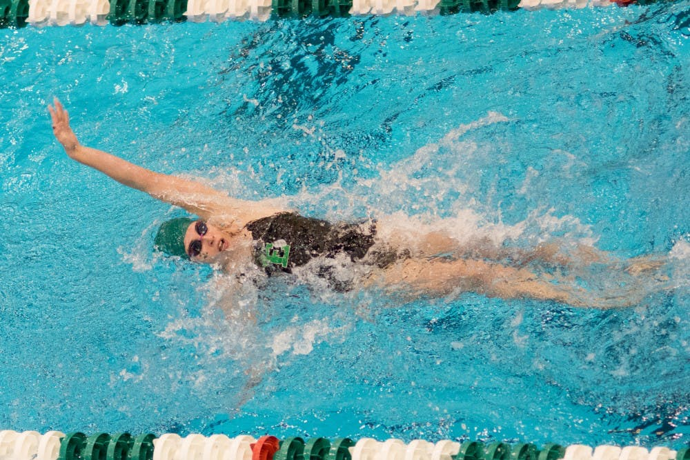 The women's swimming team hires new head coach