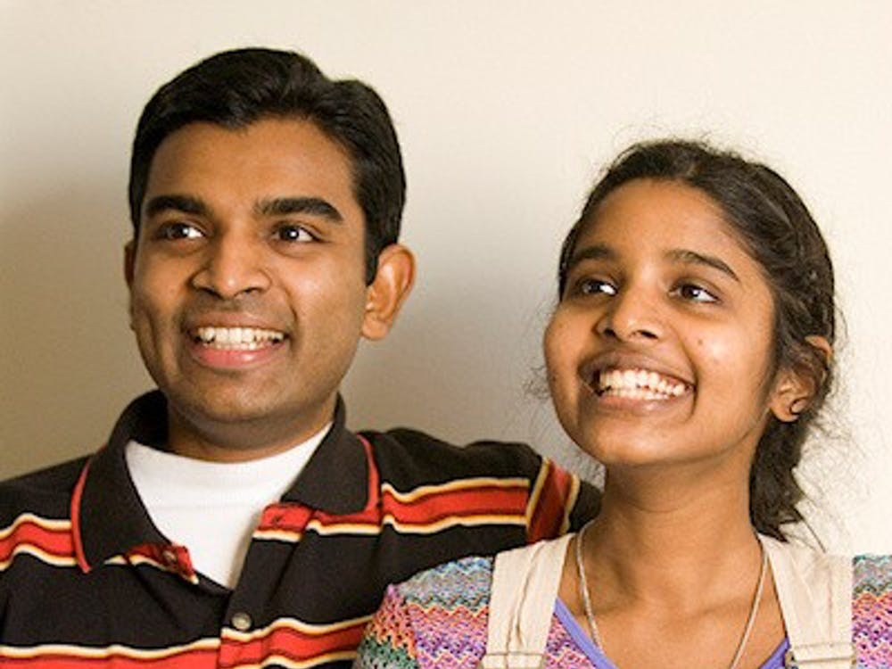Sadeepa Munasinghe (right) and her brother Chalan (left). Munasinghe needs to stay in the U.S. to continue treatment for her illness.