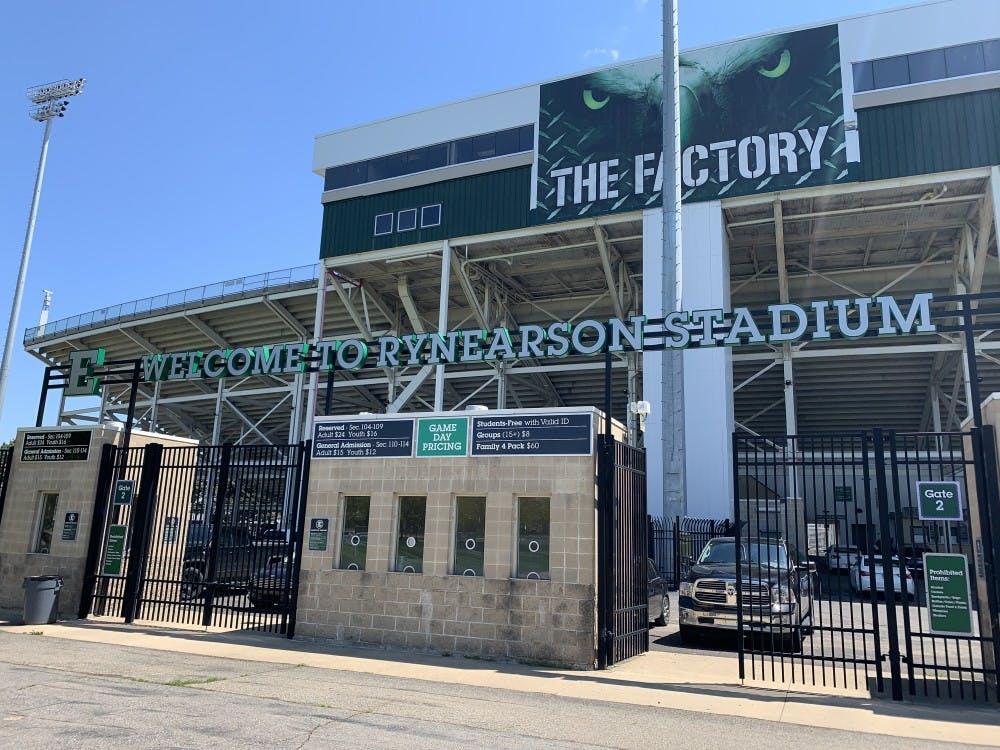 Rynearson Stadium in Ypsilanti, Mich. on May 14.