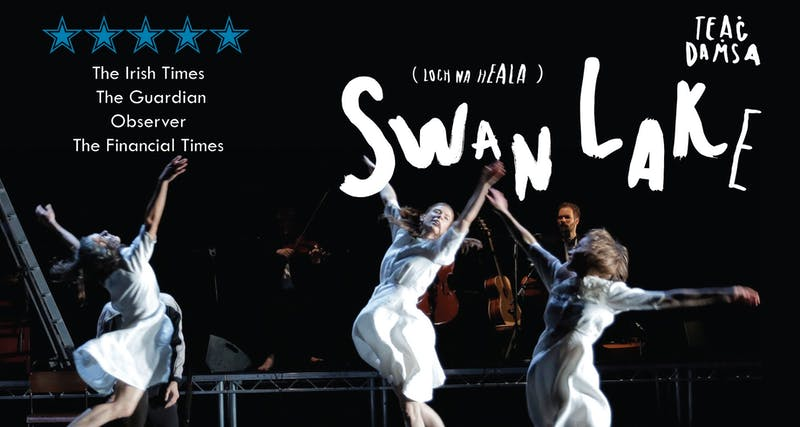 Teaċ Daṁsa's Swan Lakes (Loch na hEala) poster for performances.