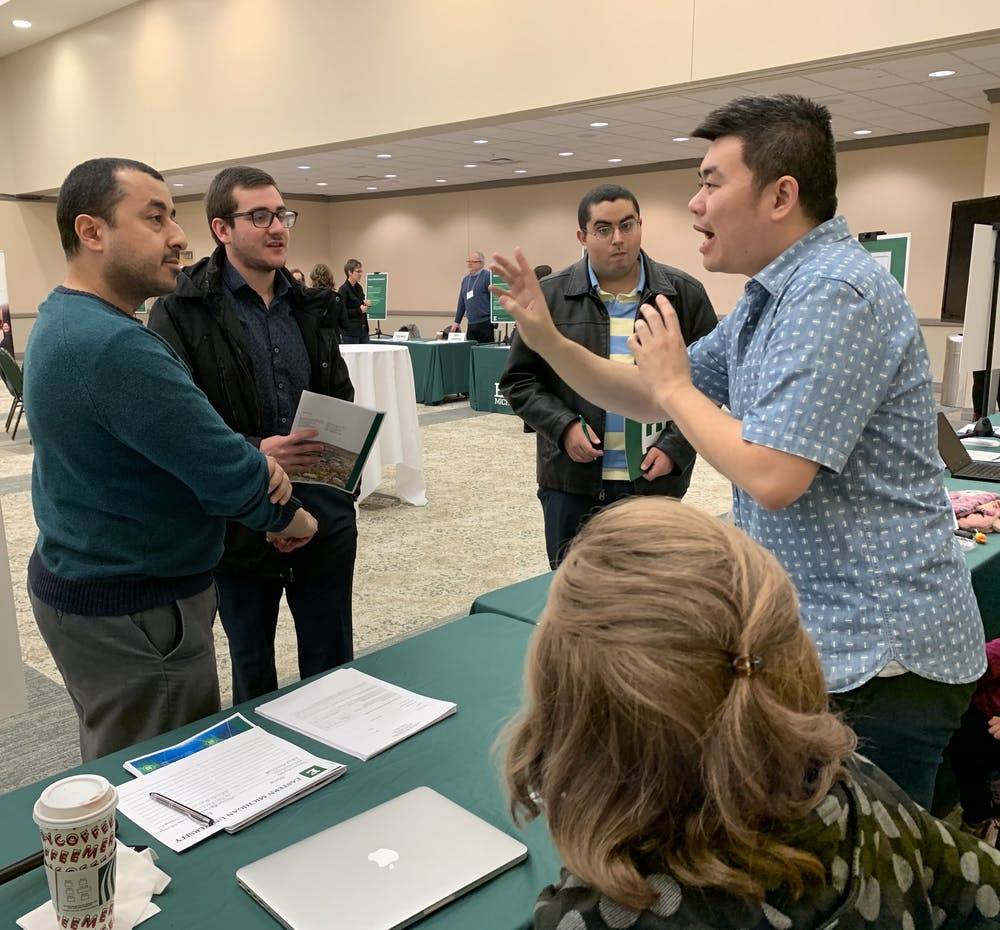 Eastern Michigan hosts bi-annual Graduate Open House