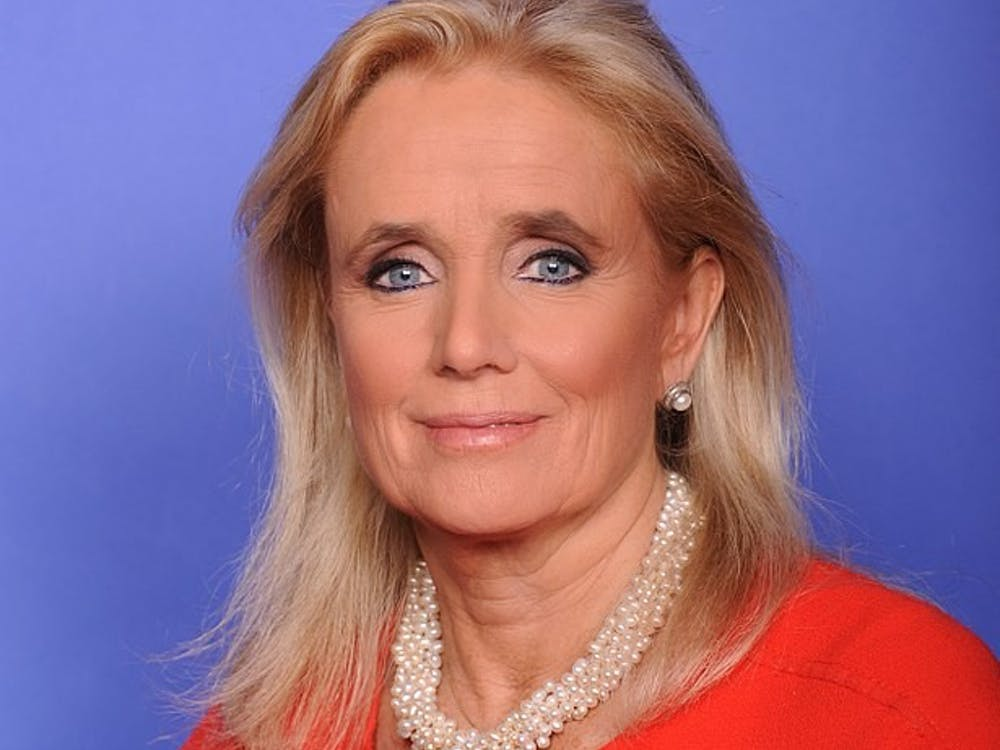Rep. Debbie Dingell's official congressional portrait.