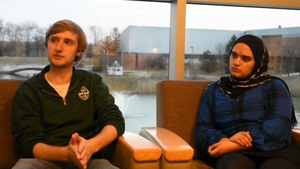 Student Body President-Elect, Vice President-Elect Speak on EMU Issues
