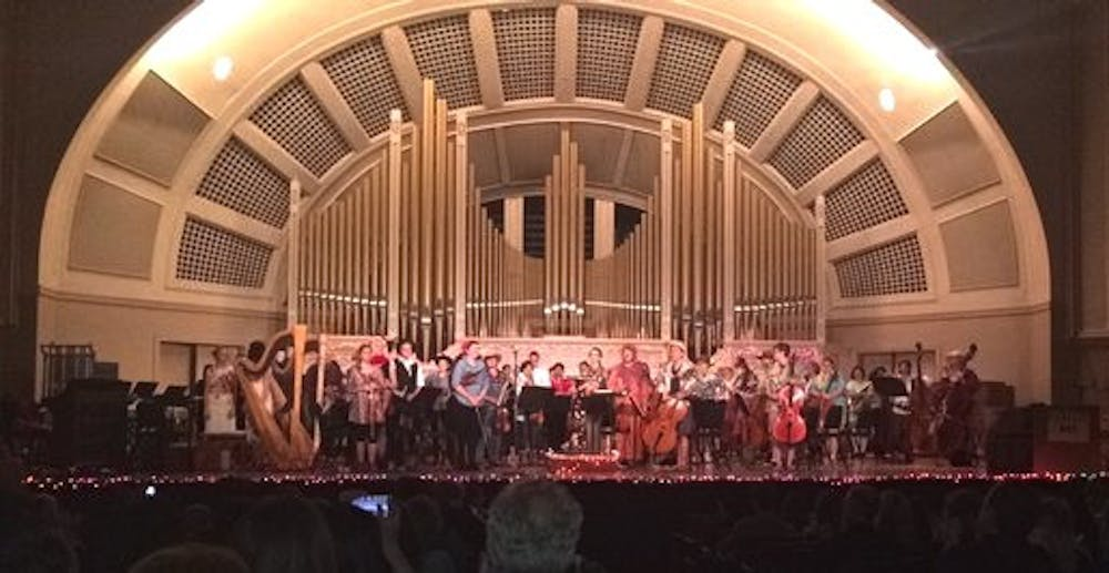 EMU's Symphony Orchestra gets creative at annual Halloween concert