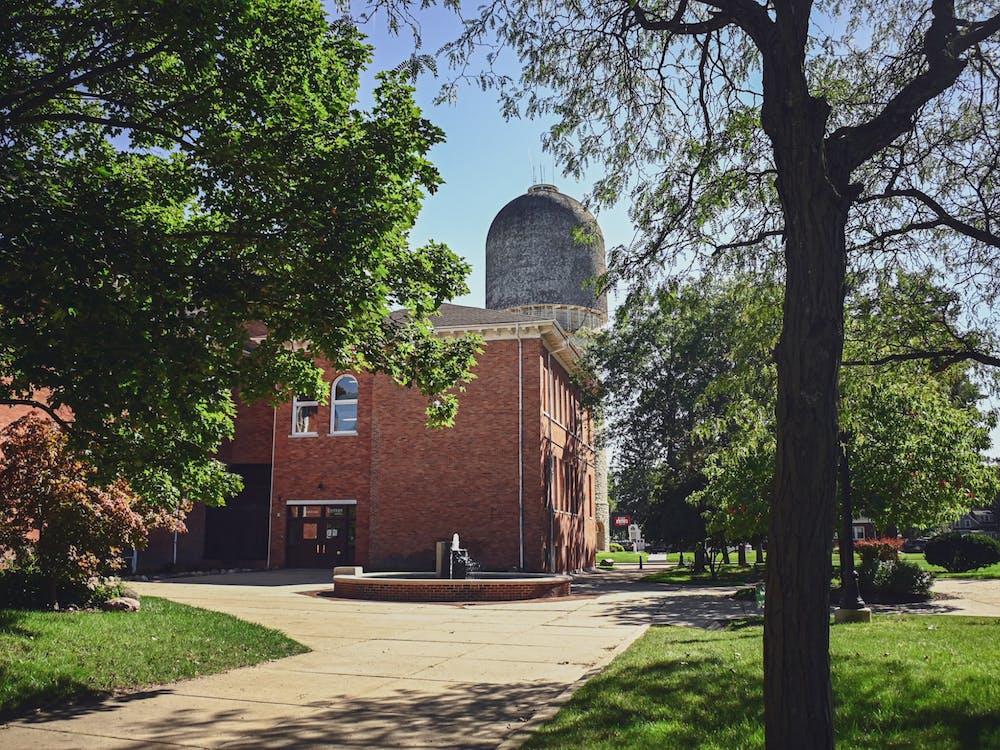 Eastern Michigan University campus.