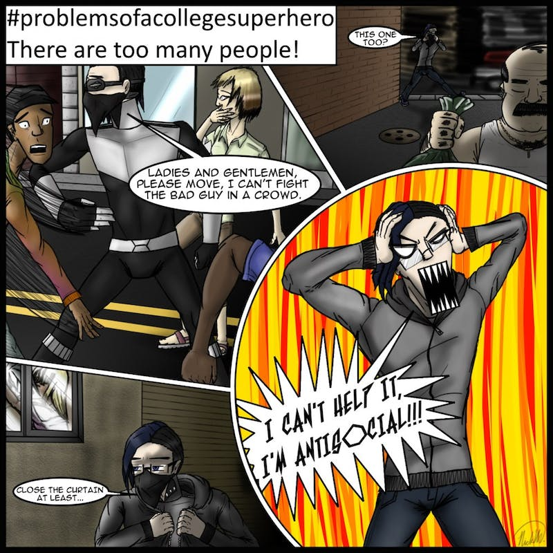 Problems of a College Superhero