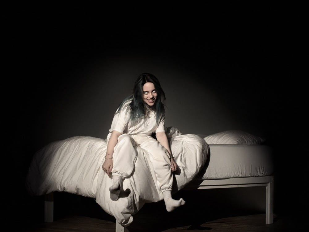 "Billie's debut album ""WHEN WE ALL FALL ASLEEP, WHERE DO WE GO?"" released on March 28."