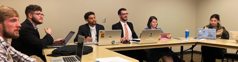 Senators in the Business and Finance Committee encouraged more fundraising from the student organizations and club sports that requested funding during the meeting on Tuesday, Oct. 15.