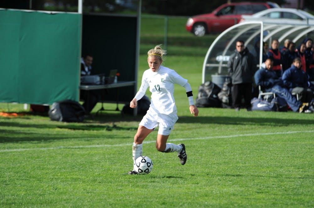 Soccer's Jessica Thomas lone senior on team