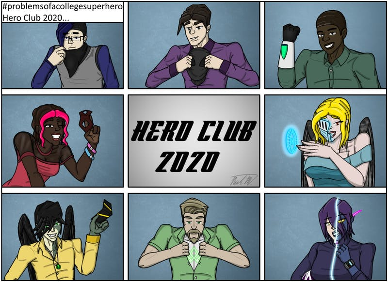 It's the 2020 Hero Club!