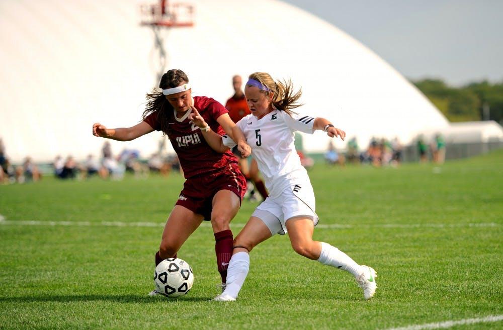 EMU women's soccer wins