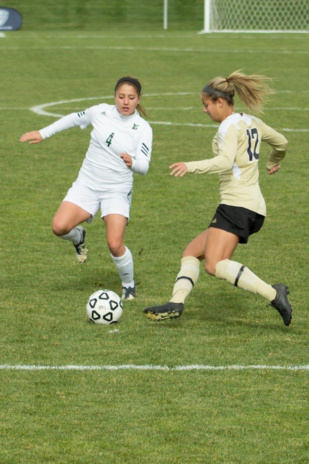 EMU soccer falls 1-0 in the MAC Semifinals