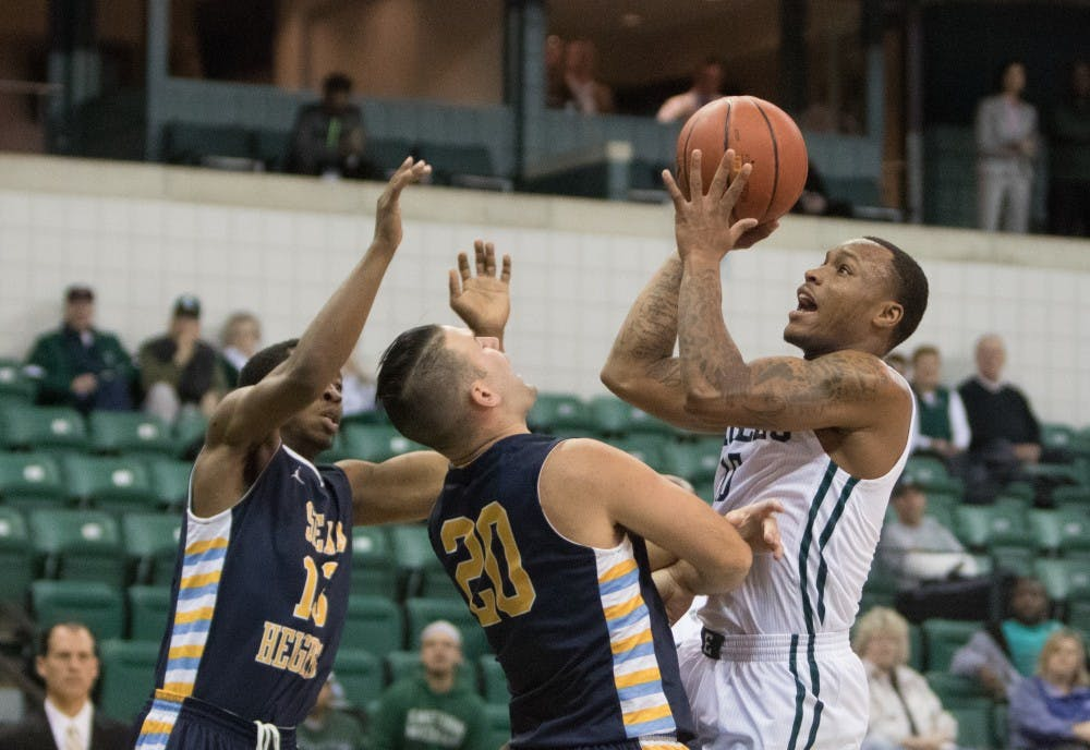 Eagles rout Siena Heights, 79-34