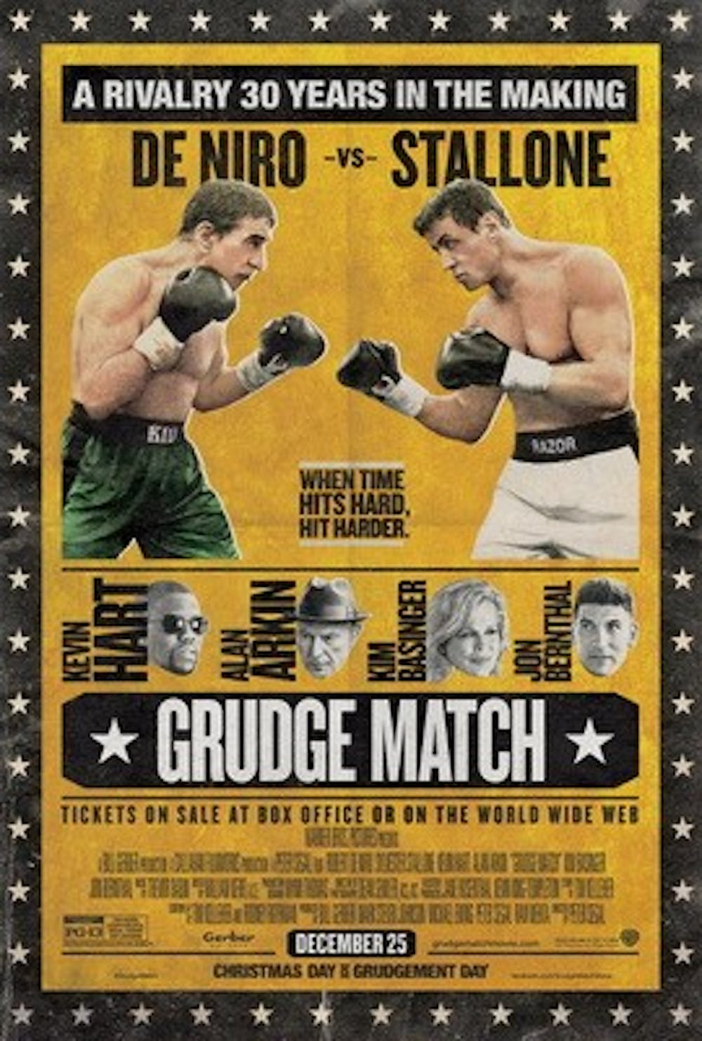 """""""Raging Bull,"""" """"Rocky"""" stars back in the ring for """"Grudge Match"""""""