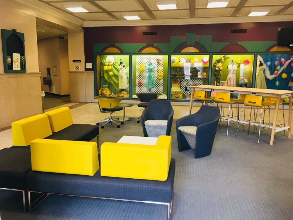 New furniture in Roosevelt Hall provides new place to work