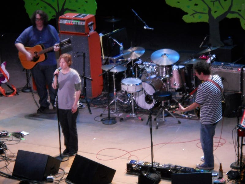 Yo La Tengo performed at the Michigan Theater Feb. 8. The show lived up to high expectations and the crowd enjoyed it.