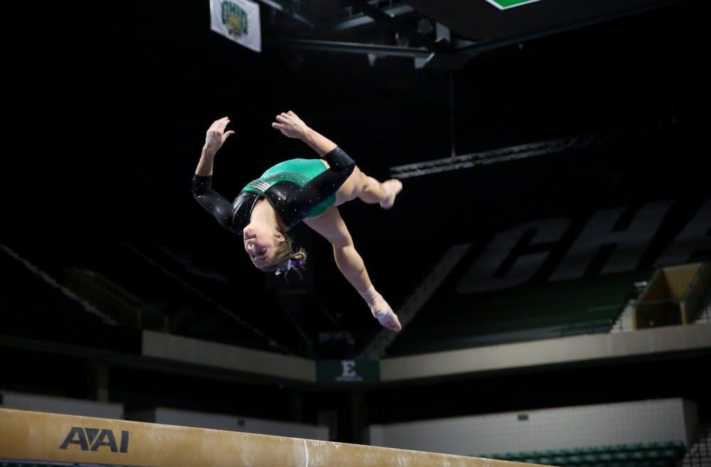 EMU gymnastics ranked 24th in academics after 2018-19 season
